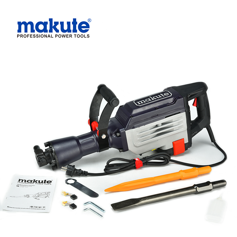Makute 85mm 220v 2800w crown power tools electric oil hydraulic concrete good quality jack china demolition hammer