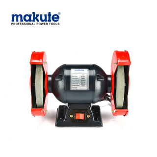 Makute High quality Industrial tool Bench Grinder 370W Polisher Machine electric bench tool