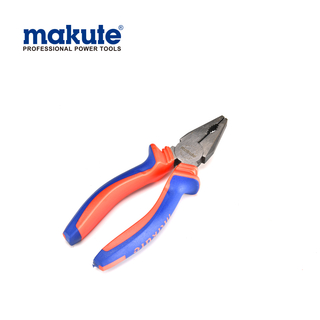 "Combination pliers 7""/180mm with TPR handle cutting pliers function and uses"